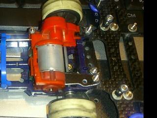 S2モーターサポートとギアカバーストッパー