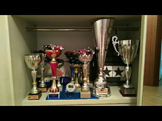 Car and trophies;)