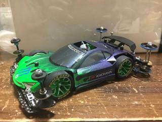 シャコタン雷斬 VS  2号車( 完成 )