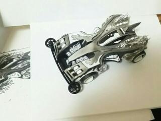 トライダガーWX 二次元塗装(再アップ)