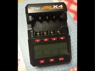 充電器 HiTEC X4