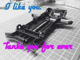 ほんとに、いままで、ありがとう。゚(゚´ω`゚)゚。