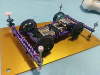 パープル桁車