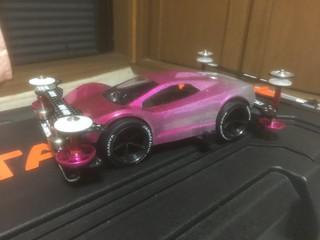 ギャルっぽいピンク