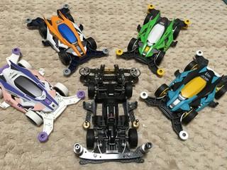 デクロスR 3レーン用 集合!