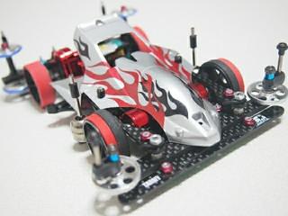 VS黒強化 サンダーショットJr. Red&Black
