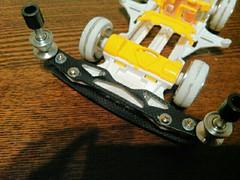 VSフロント調整とMSタイヤ作成