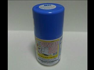 ガンダムカラースプレー SG14 MSライトブルー