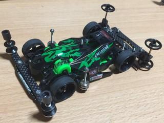 【FMAR-TSjr 】緑炎 Racing spec