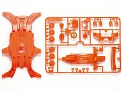 95320 MA蛍光カラーシャーシセット(オレンジ)