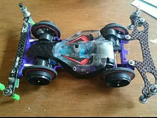 紫VS超大径バンパー車