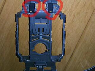 内蔵サスペンション改良(低反発バンプラバー)