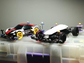 2台の低反発フレキ