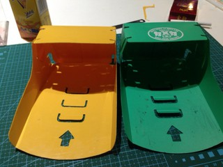 自制接车盒
