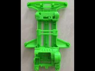 荧光绿色TZ-x CHASSIS