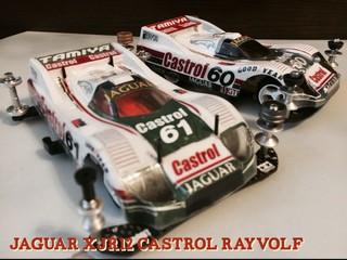 JAGUAR XJR12 castrol RAYVOLF