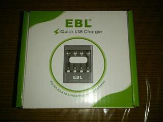 EBL 充電器