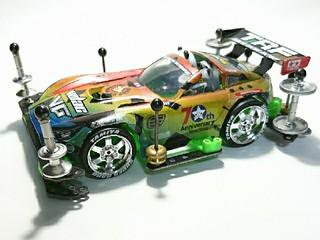 くまもんGT   (ドライバー乗車/グラデ/マスキング塗装)