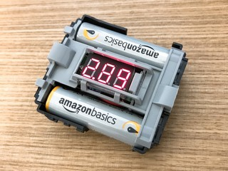 簡易電圧計