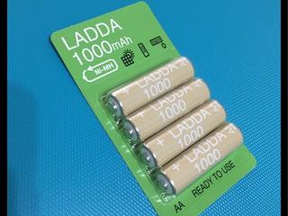 充電池 IKEA LADDA 1000mAh
