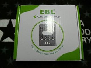 EBL 急速充電器USB入力付き[2017/9/23]