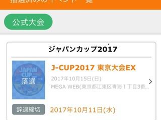 JAPAN CUP EX