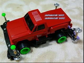 赤いトラック♪