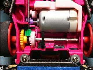 FMAR  自作モーターサポート