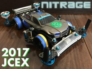 ナイトレージjr 2017JCEX