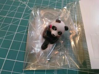 パンダ ドライバー人形[2015/3/23]