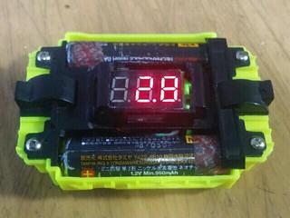 電圧計作りました