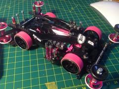 tamiya 95061 K3 Pink+Black