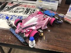 ピンク小径車