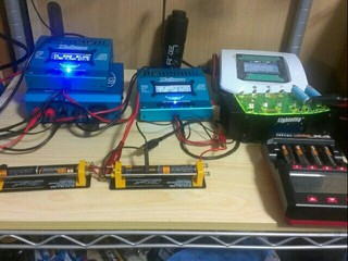 充電器&放電器達
