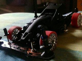 THUNDERSHOT JR. on FMA chassis