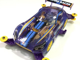 Mini 4WD Lupine Racer GT 素組