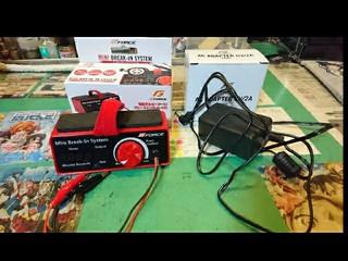 モーター慣らし器(電圧表示に誤差、大・小)・専用アダプター