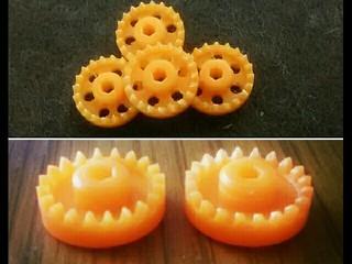 オレンジクラウンギア ヘリカル加工