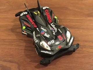 SPIN-AXE Rally Model