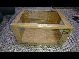 お手製集塵ボックス