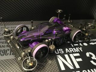 アスチュートSII紫カラー