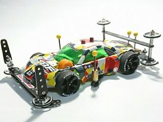 パンダGT FMAR マスキング塗装仕様