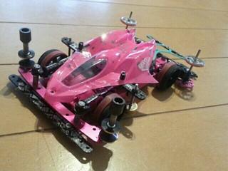 ピンクのマンタ、アイアンテール装着!!
