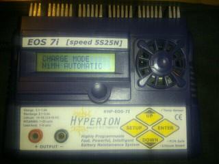 充電器28台目 ハイペリオンEOS7i