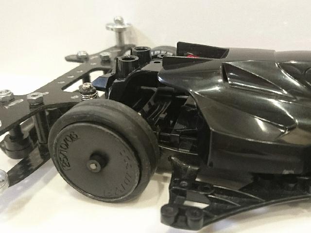 大径ローハイトスーパーハードタイヤ 黒版