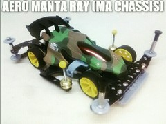 AERO MANTA RAY (MA)迷彩 セミコン第2弾