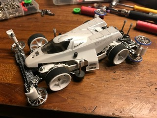 TAMIYA WHITE DRAGON