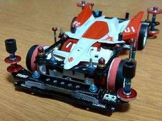 ヴァルキュリアセイヴァー・紫電01改 (公式テスト車)