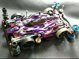 エアロアバンテ・purple ファイヤー