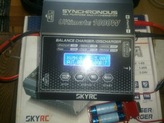 充電器30台目 SKY RC Ultimate 1000w
